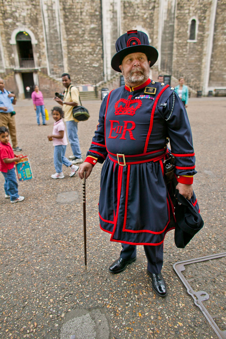 1042Yeoman of the Guard, Beefeater, Tower of London