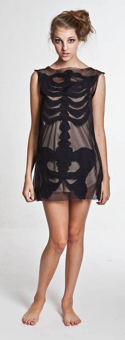 1098Skeleton dress