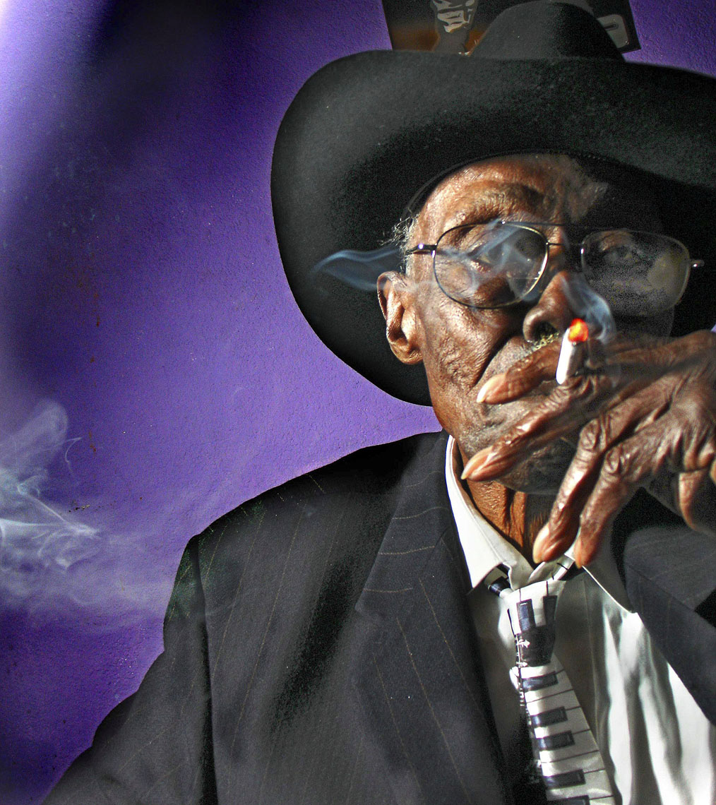 Pinetop Perkins, original Delta Blues Piano player