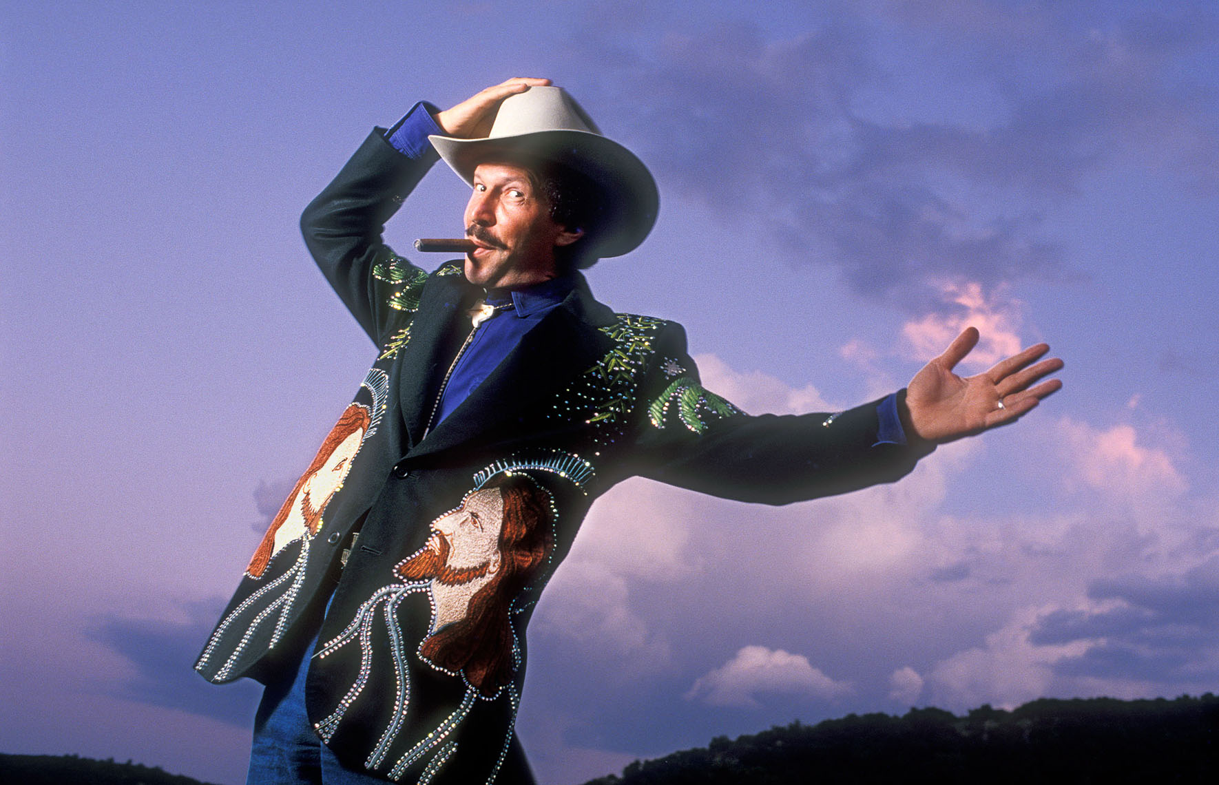 Kinky Friedman, politically incorrect raconteur