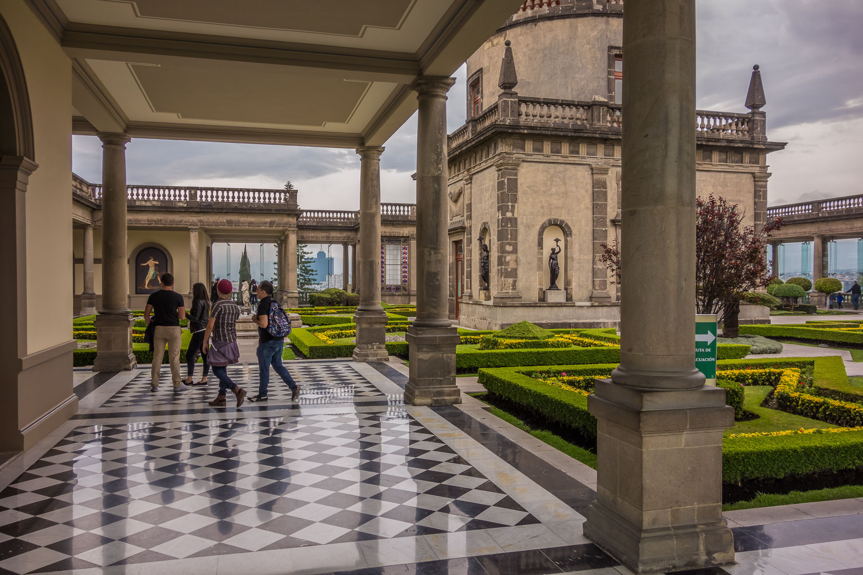 1194Chapultepec Castle, Mexico City*-
