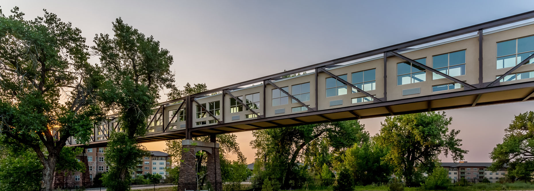 1217Wind Crest, Highlands Ranch, Colorado, covered pedestrian bridge