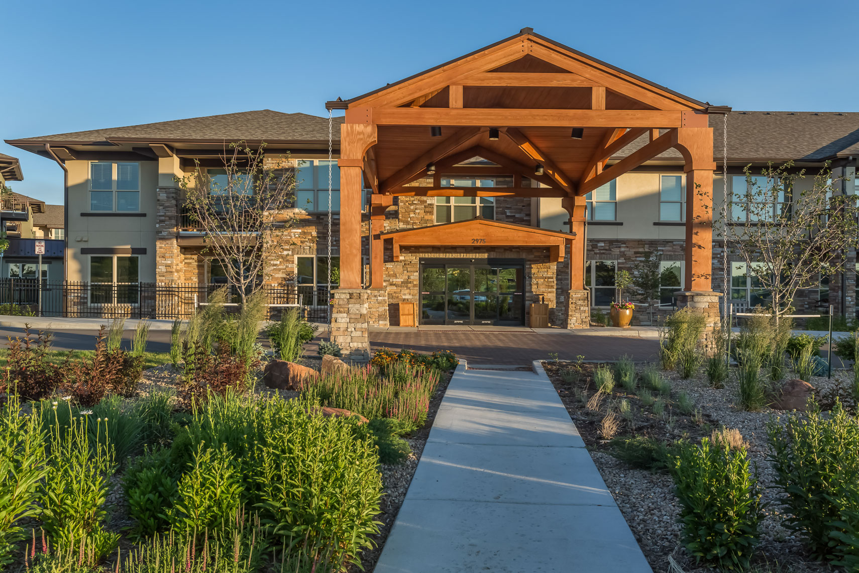 1218Wind Crest, Highlands Ranch, Colorado, entrance
